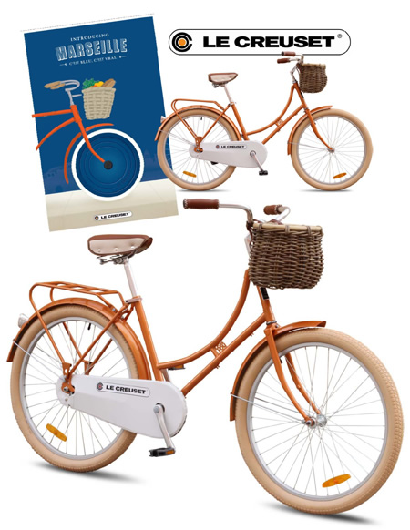 Repbulic Bike promotional bicycle for Le Creuset